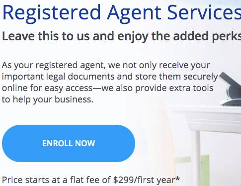 Registered Agent Services by LegalZoom