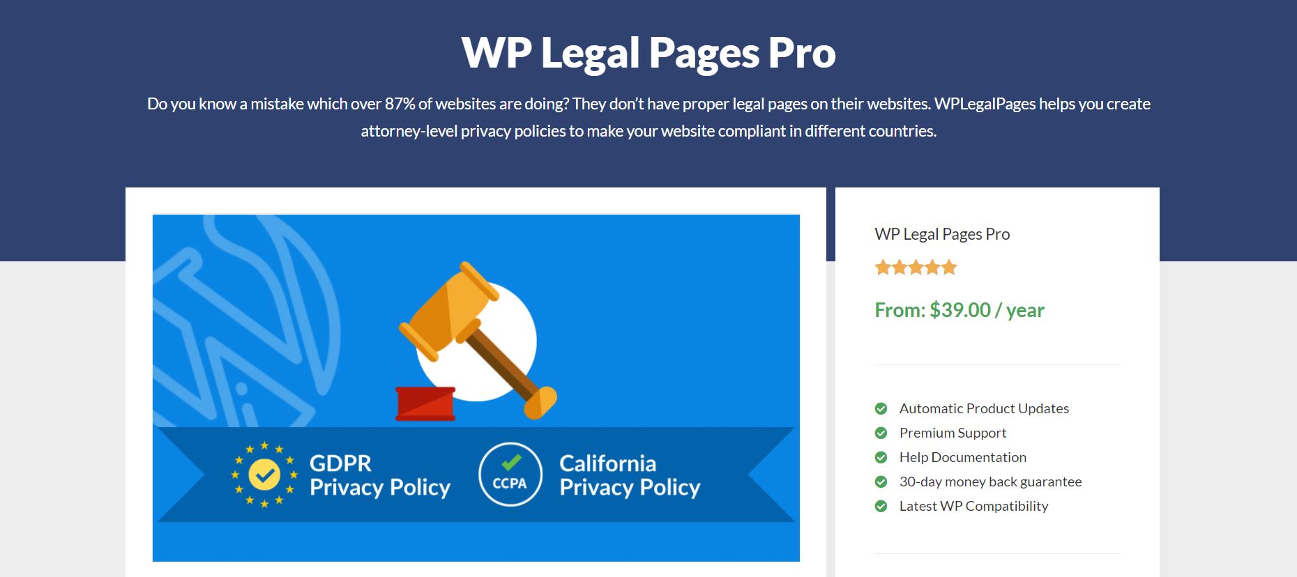 Best WordPress Privacy Policy Generator